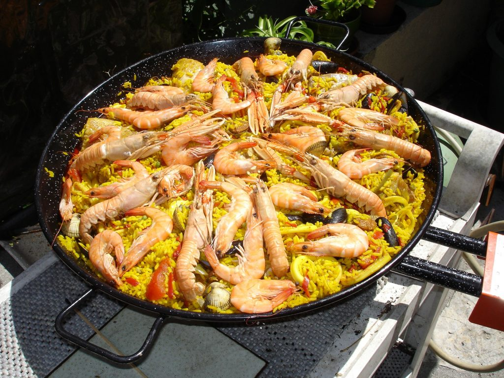 Paella Catering live Cooking